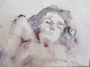 Jean Langergraber kelowna artist female nude art Livessence mixed media