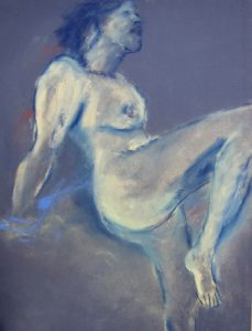 Jean Langergraber kelowna artist female nude art Livessence mixed media
