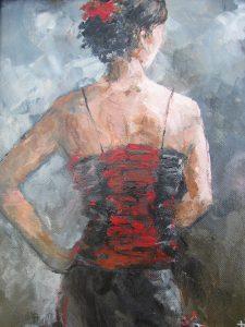 Tina Siddiqui kelowna artist female nude art Livessence oil painting